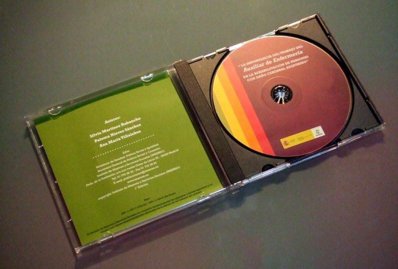 CD-Rom abierto