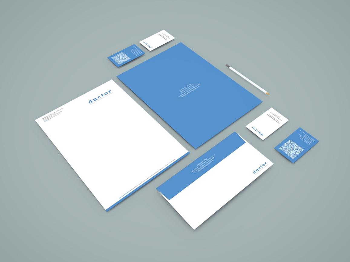 Ductor: Diseño de Imagen Corporativa