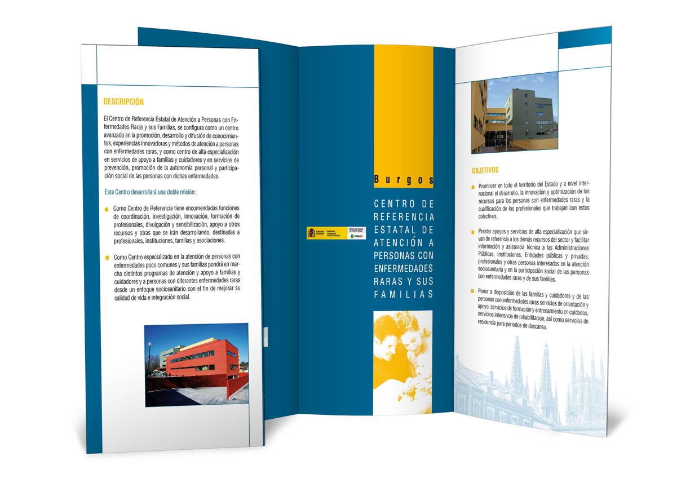 cuadriplico folleto producción impresión