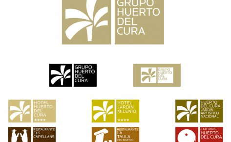 Diseño de Imagen Corporativa para El Grupo Huerto del Cura