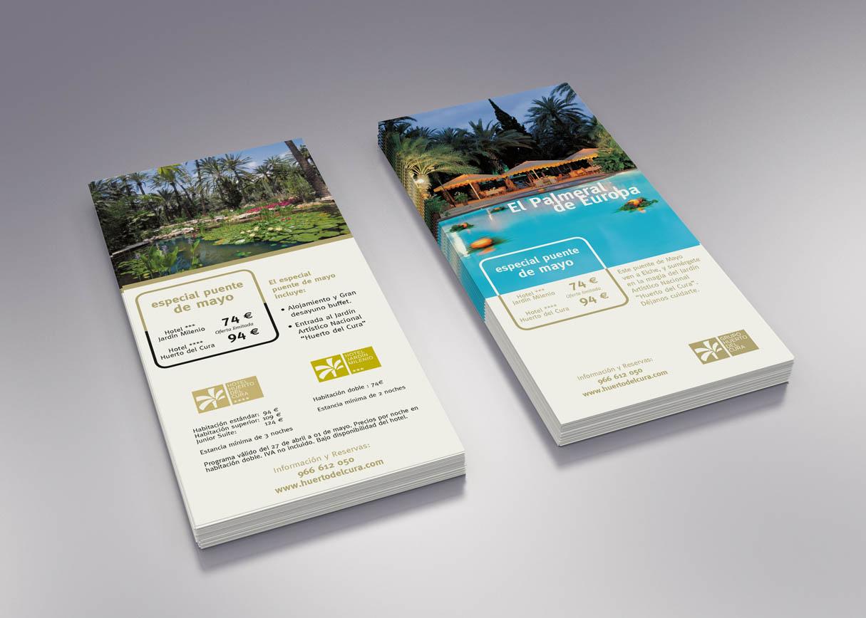 Flyer promocional - Diseño e impresión
