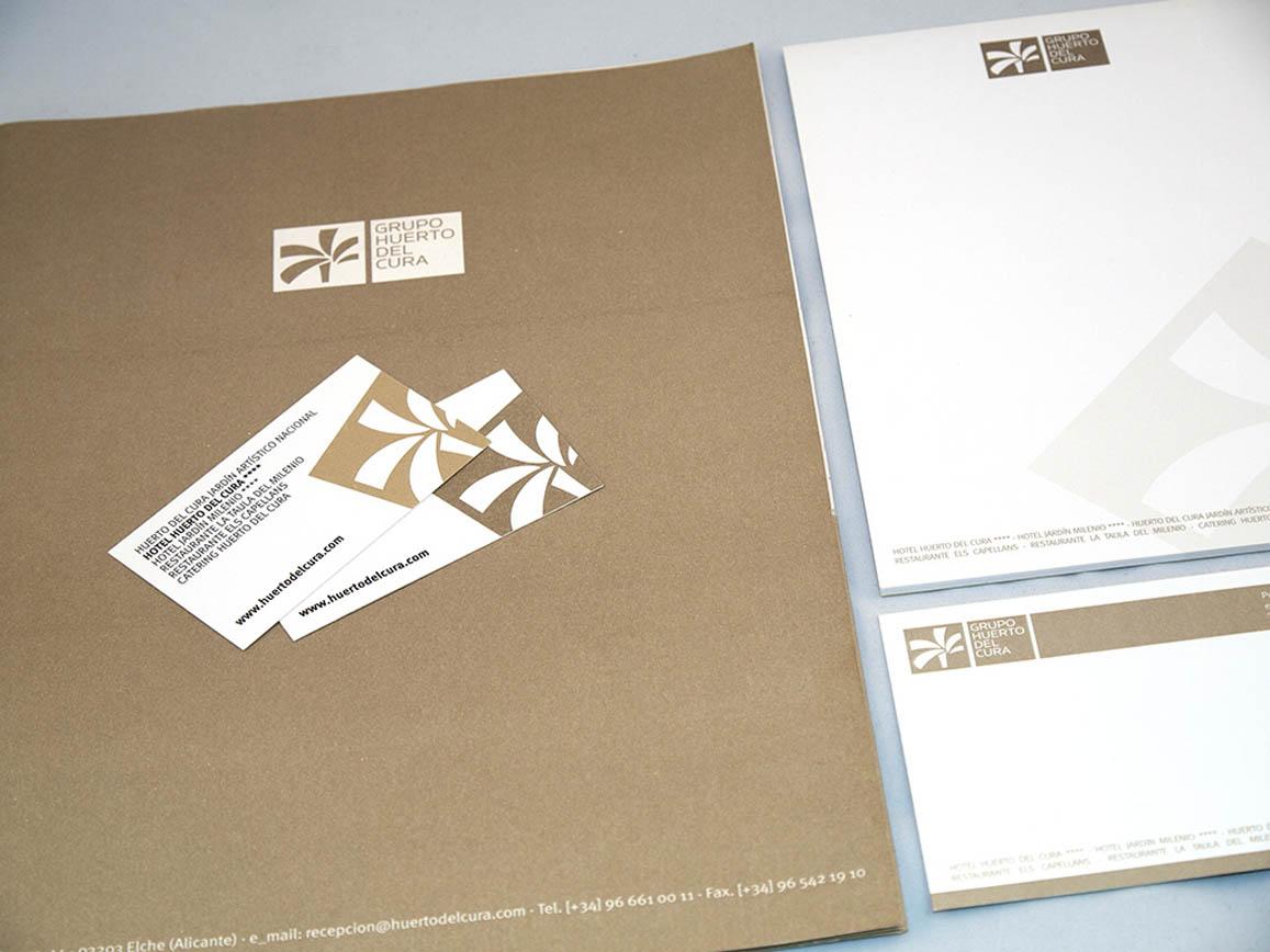 Diseño y producción de papelería