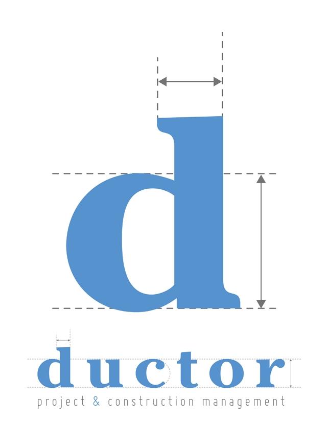 Ductor diseño de imagen corporativa