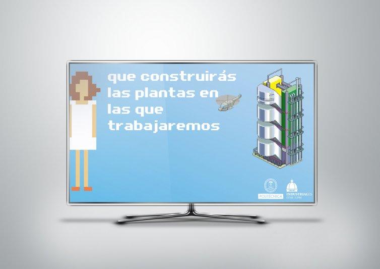 """Video de animación para ETSII UPM """"Pixeles 2011"""""""