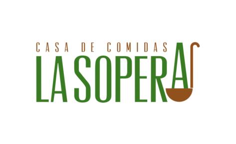 Diseño de logotipo Restaurante – Casa de Comidas La Sopera