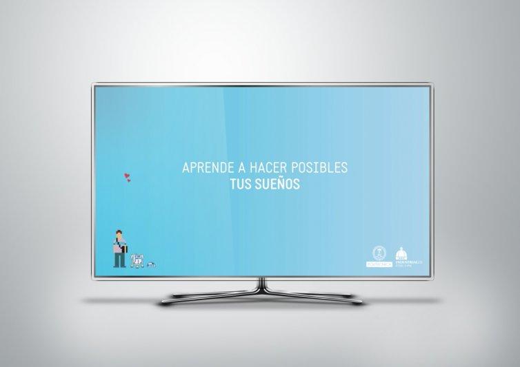 """Video de animación para ETSII UPM """"Pixeles 2012"""""""