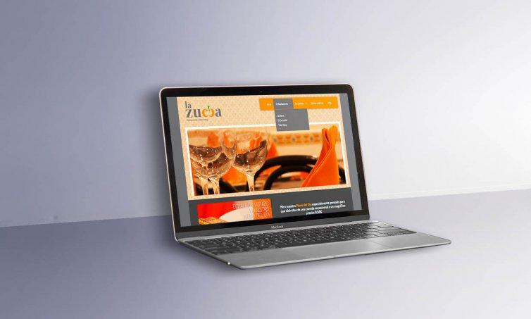 Web en WordPress. Si pero con diseño. la zucca.